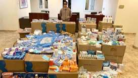 Asian arrested for selling medical supplies illegally
