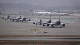 Coronavirus-stricken airlines call for tax relief to limit bankruptcies