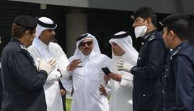 HE the Prime Minister and Minister of Interior Sheikh Khalid bin Khalifa bin Abdulaziz al-Thani, who