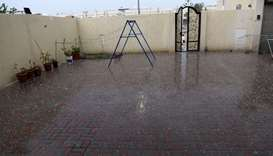 Doha, other places see rain, thunderstorms