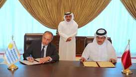 Qatar, Uruguay sign air services pact