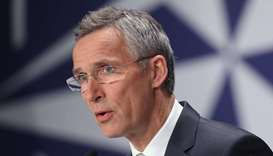 Nato chief hails Amir on Afghan peace deal