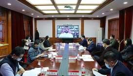 QU, Peking University hold video conference on fighting Covid-19