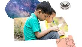 Khan Academy offers a programme suited for any school-aged child that knows how to read