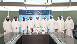 Doha Bank donates 1,000 laptops for QC's E-learning project