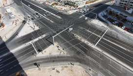 Sana Intersection fully upgraded and opened to traffic: Ashghal