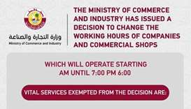 MoCI specifies companies, shops for exemption