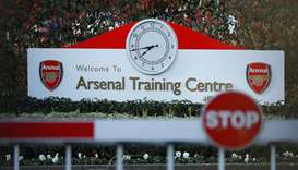 Premier League training grounds have been shut down due to the virus outbreak. (Reuters)