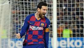 Barcelona star Lionel Messi embraced the need for the players to be the ones to bear the brunt of th