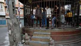 Nepal nabs lockdown flouters with extendable claw devices