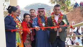 QRCS, UNDP open sustainable development projects in Nepal