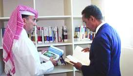 Qatar gifts books, references to Somali Diplomatic Institute