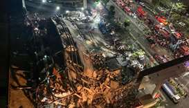 China quarantine hotel collapse in Quanzhou