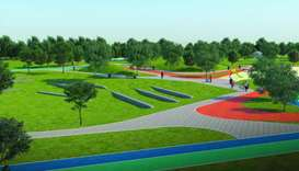 Once completed, the park will be a tourist and leisure destination serving the local residents and p