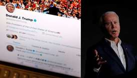 Twitter labels edited clip of Biden retweeted by Trump as manipulated media