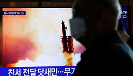 North Korea fires three projectiles, South Korean military says