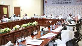 The meeting discussed a number of important topics related to the future of volleyball in Qatar.
