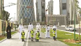 The Supervisory Committee of Beautification of Roads and Public Places in Qatar, Ministry of Justice