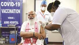 Modi takes local Covid jab as immunisation drive widens