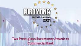 Commercial Bank wins two major Euromoney awards