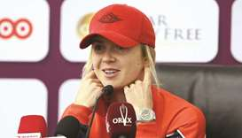 Svitolina sets sights on 'beautiful' Doha trophy