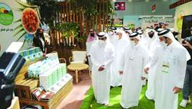 Dignitaries taking a look at Mazzraty products at AgriteQ 2021
