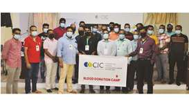 The Center for Indian Community (CIC) Rayyan zone, in co-operation with Hamad Medical Corporation, c