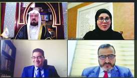 'Legal Week' kicks-off with webinar on 'Islamic banks and means of dispute settlement'