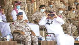 Armed Forces conclude Al-Adeed exercise
