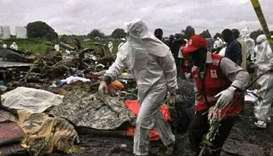Ten people killed in plane crash in South Sudan