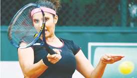 File photo of India's Sania Mirza. (AFP)