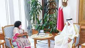 PM meets foreign minister of Ghana