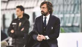 Juventus coach Andrea Pirlo is under pressure as the team chase their 10th straight Serie A crown.