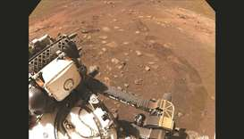 Nasa's Mars rover Perseverance goes for a 'spin'