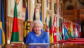 Queen Elizabeth II. (File photo/ AFP)