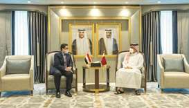 During the meeting, they reviewed the bilateral relations and the latest developments in Yemen.