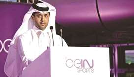 Nasser al-Khelaifi, Chairman of beIN Media Group, President of Paris Saint-Germain and former profes