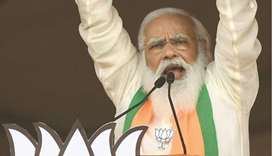 Modi pledges development in West Bengal to woo voters