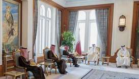 At the outset of the meeting, Minister of Foreign Affairs of the Kingdom of Saudi Arabia conveyed th