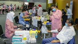 More than half a million fully vaccinated in Qatar