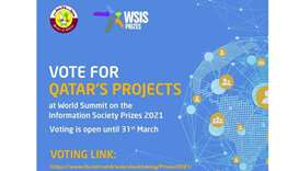 10 Qatari projects qualify for phase III of WSIS2021 Prizes