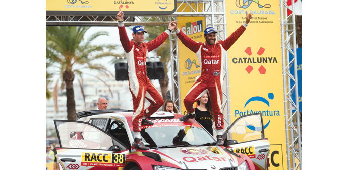 Al-Attiyah adds WRC2  title to a spectacular year