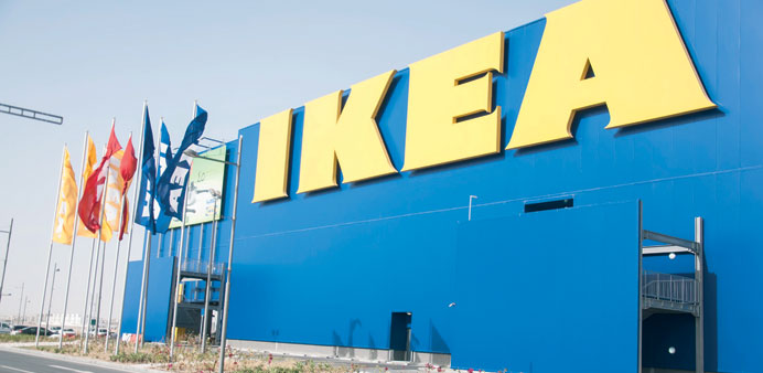 The Ikea store in Qatar