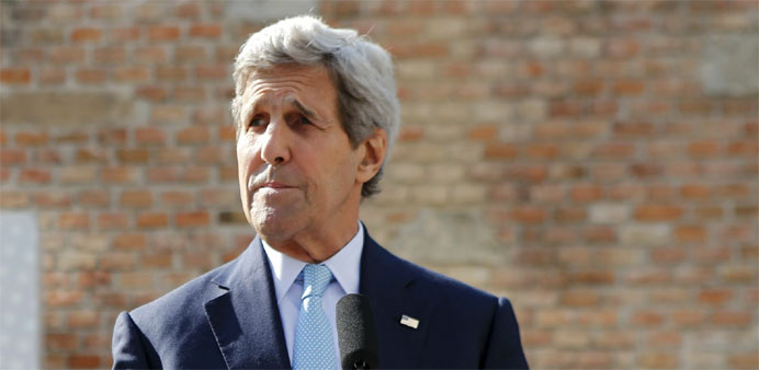 Kerry says 'now the time' to finish Iran nuclear deal