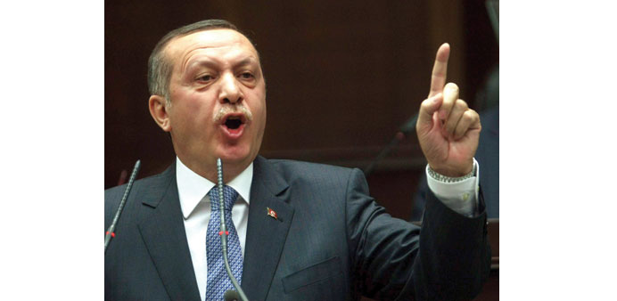 Know your place, Turkey president tells NYT