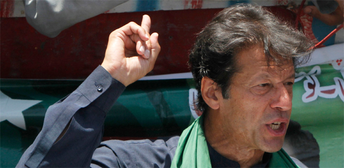 Pakistan's Imran Khan calls for compensation to drone victims
