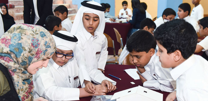 The educational outreach has impacted 530 Qatari students from 70 schools this year.