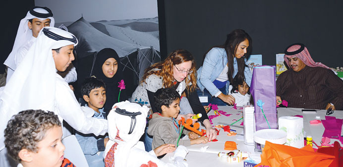 'Family Fridays' at Katara Sheikh Abdullah exhibition