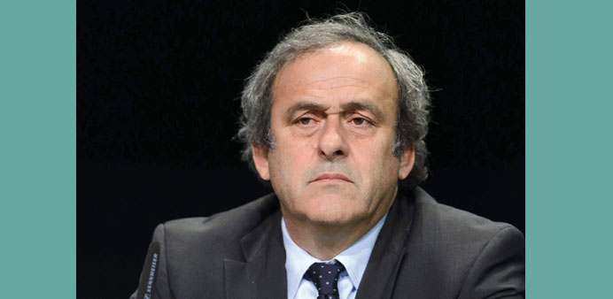 Platini hits out at FIFA investigators