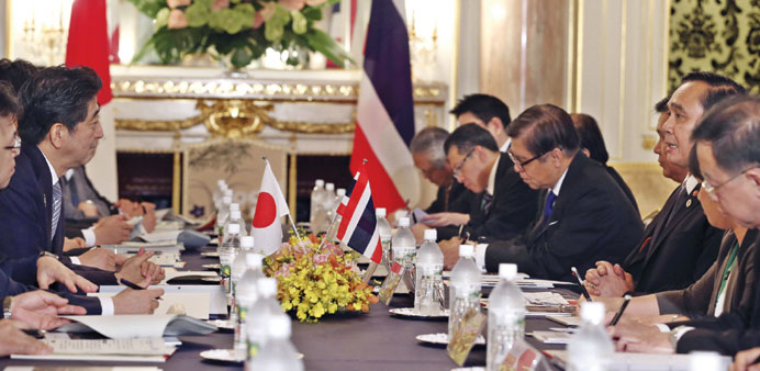 Japan vows $6.1bn aid to 'Mekong Five' countries
